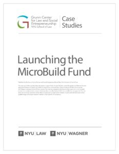 Launching the MicroBuild Fund PDF Thumbnail